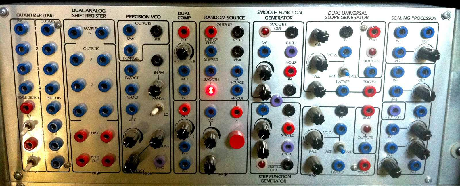 Serge Modular Custom synthesizer