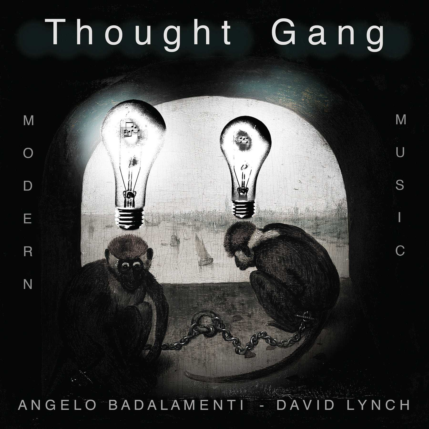 David Lynch, Angelo Badalamenti - Thought Gang - обложка