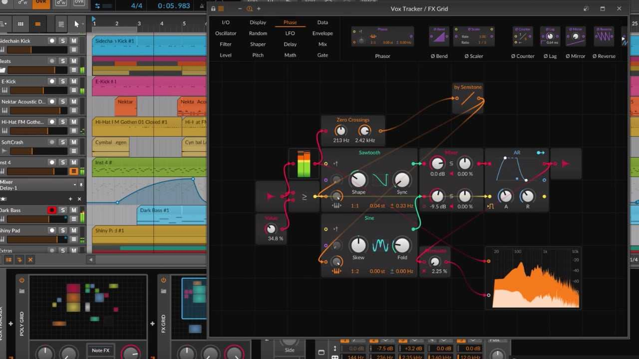 Bitwig Studio 3- The Grid
