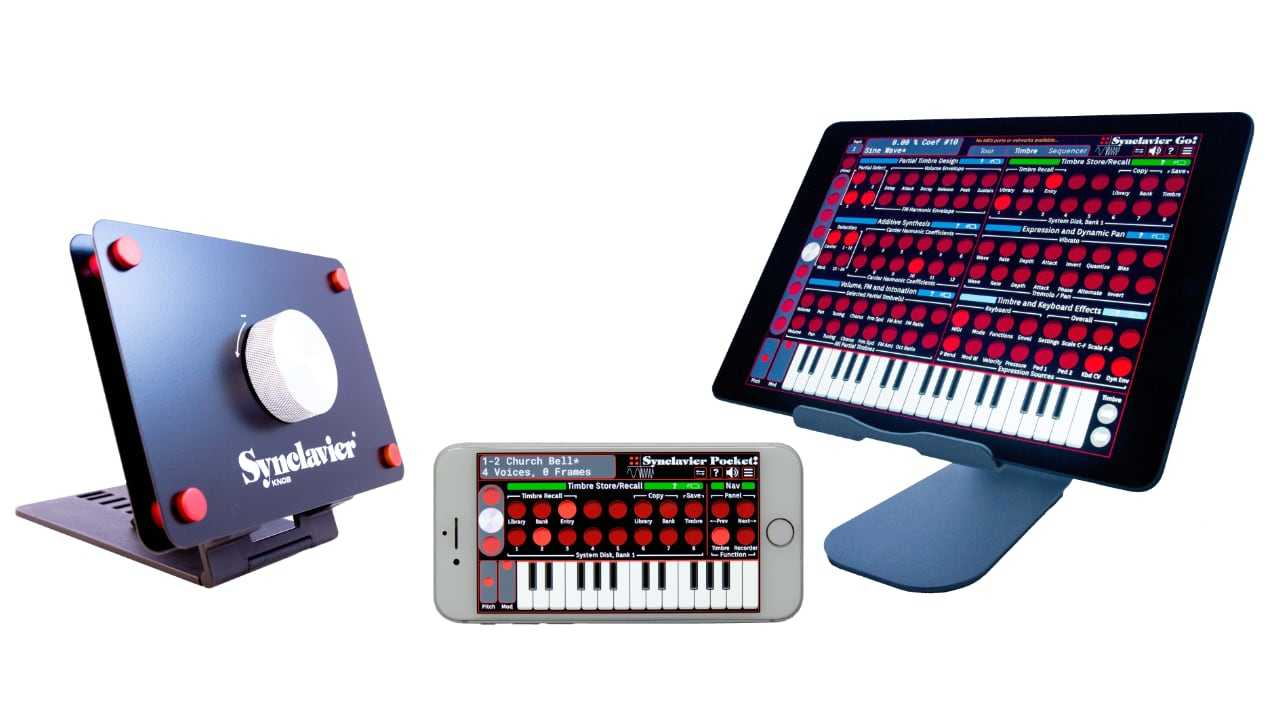 Synclavier Go! (для iPad) и Synclavier Pocket! (для iPhone и iPod Touch)