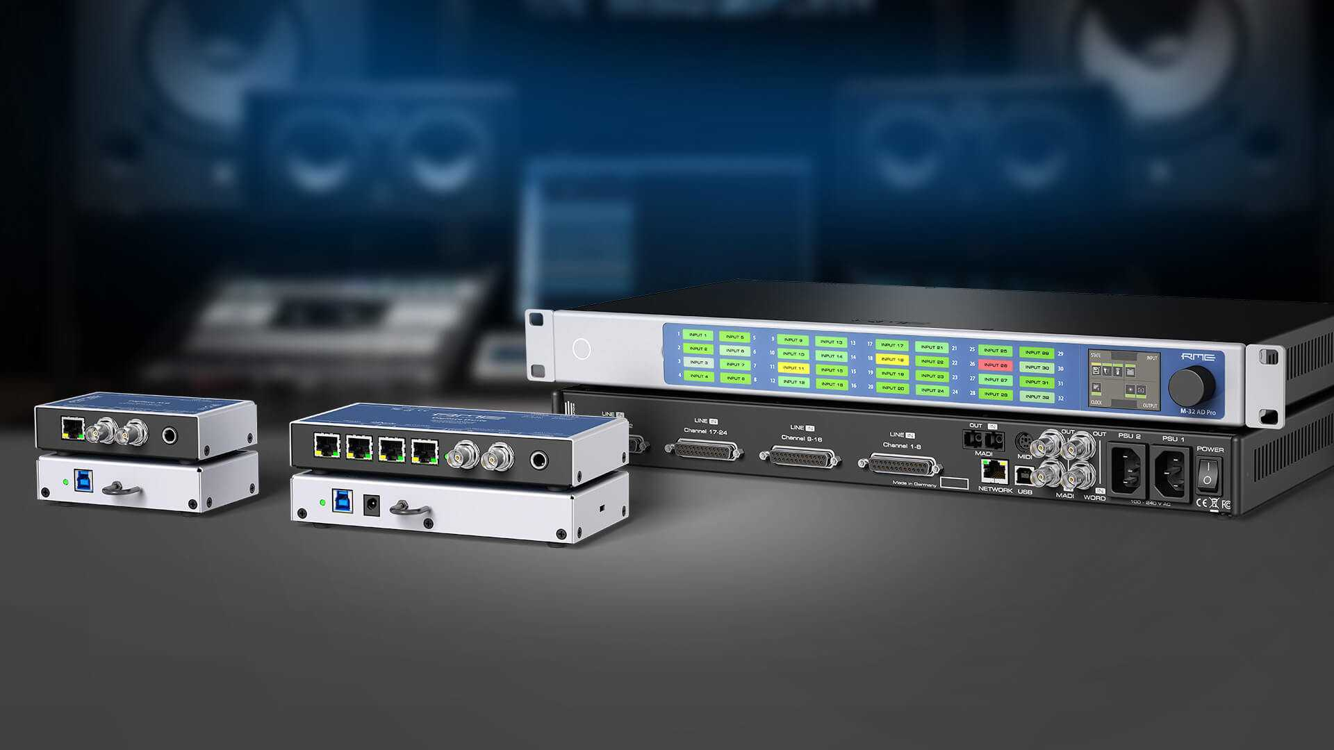 RME Network-Audio