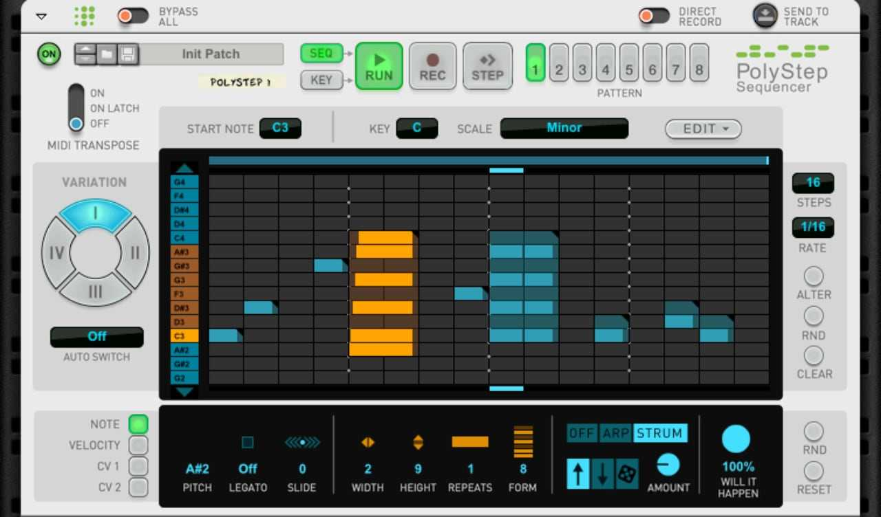 Propellerhead PolyStep Sequencer