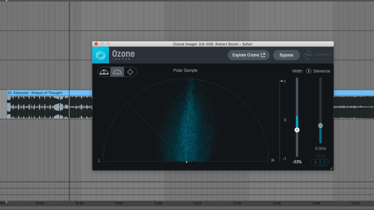 iZotope Ozone Imager Stereo Imaging Plug-in