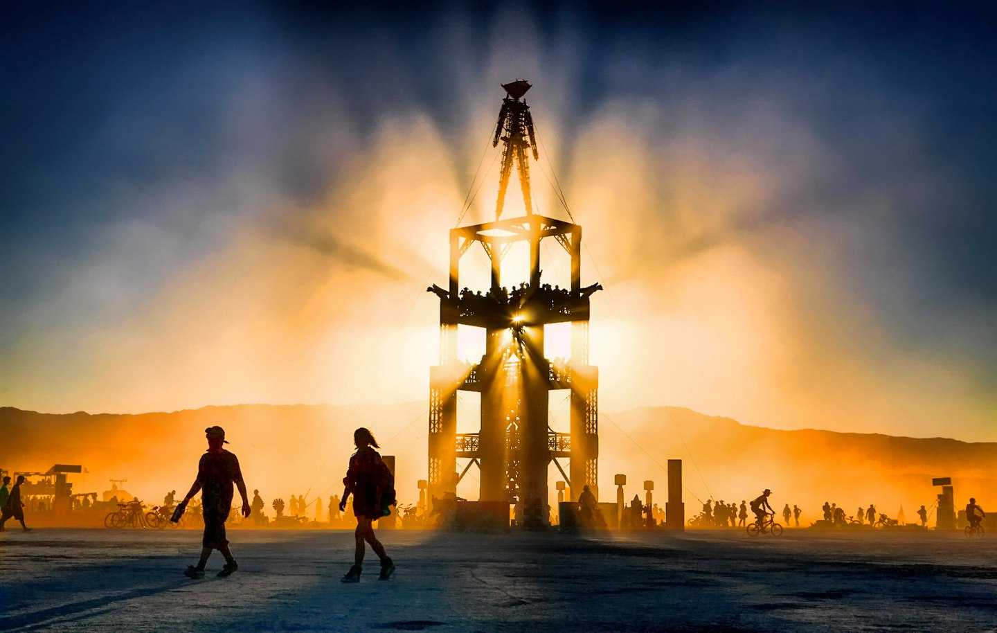 The Burning Man 2020