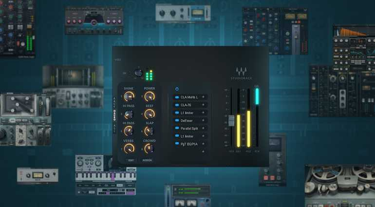 Waves StudioRack и SoundGrid