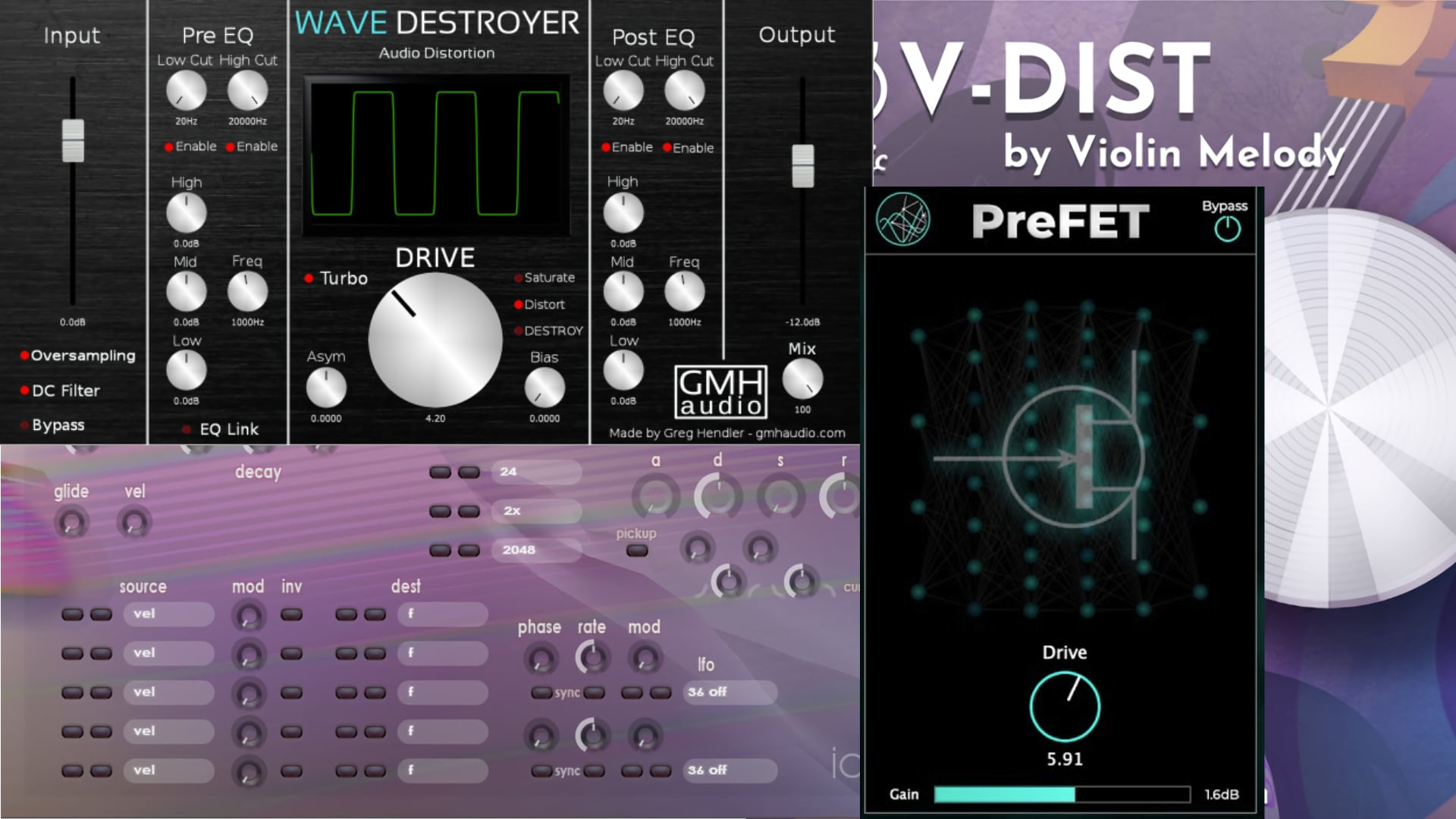 Wave Destroyer, V-Dist Classic, PreFET и Ideal