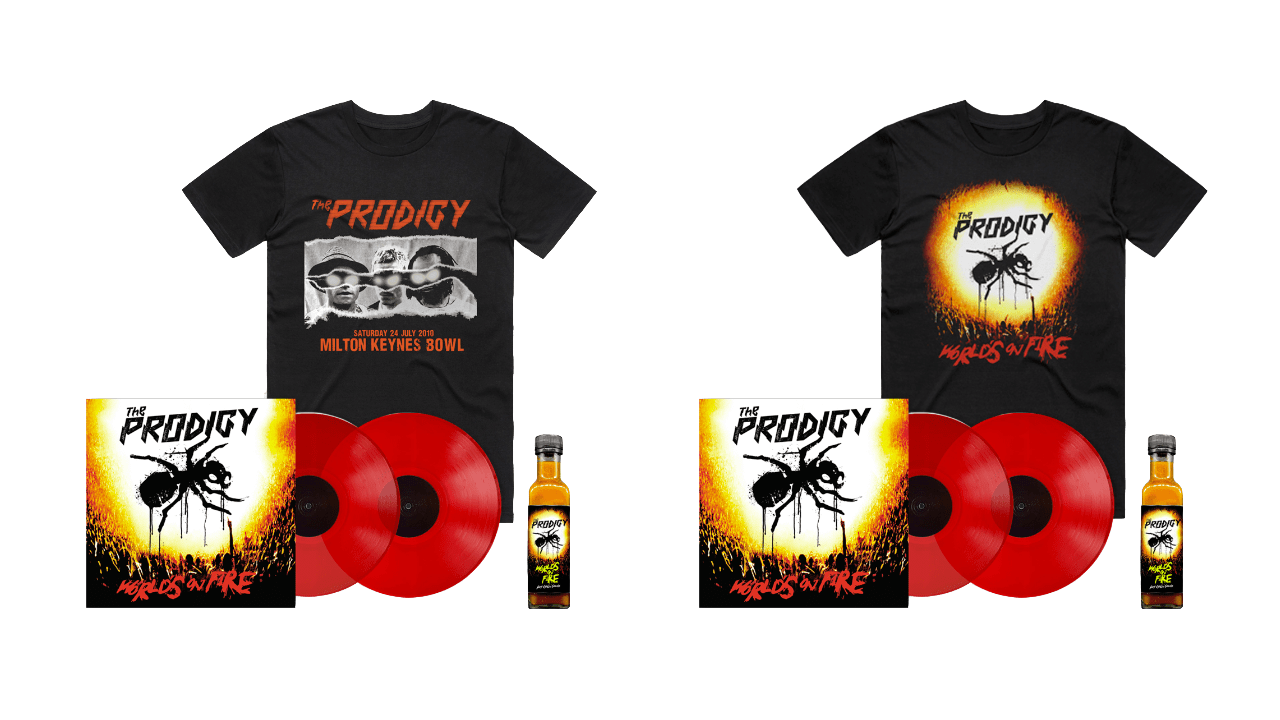 World's On Fire Vinyl Bundle