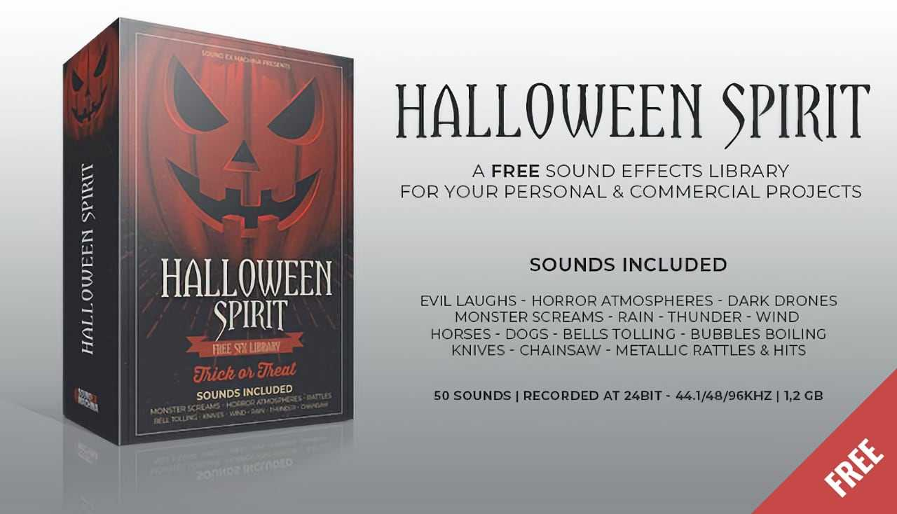 Halloween Spirit sound effects