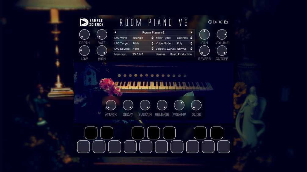SampleScience Room Piano v3