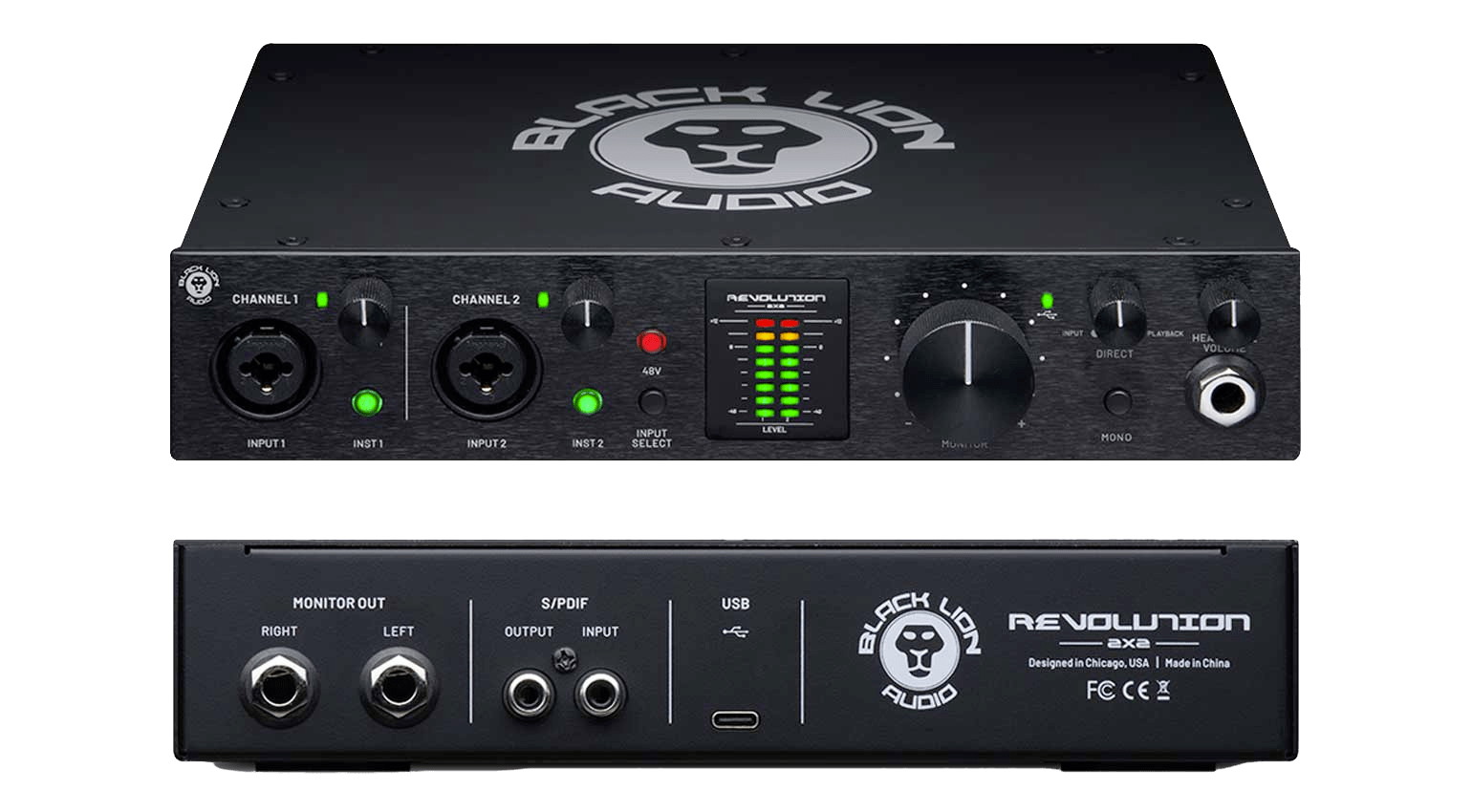 Black Lion Audio Revolution 2×2