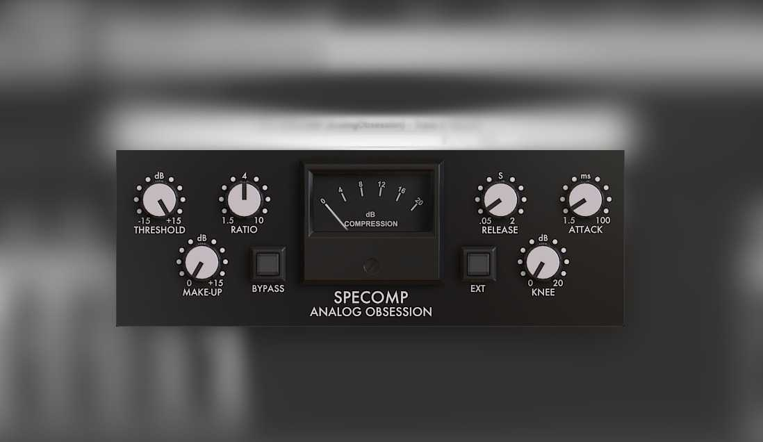 Analog Obsession SPECOMP